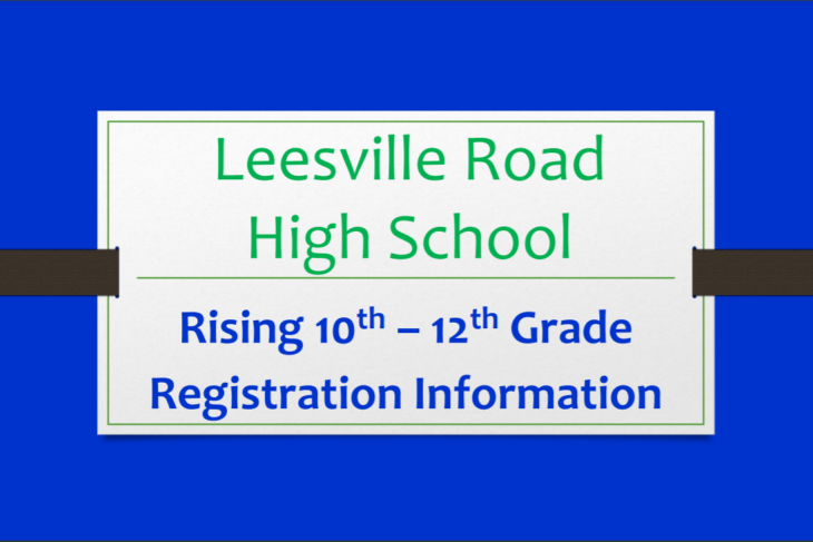 2021-2022 Class Registration for LRHS Students
