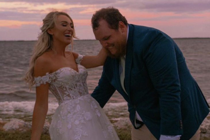 "Luke Combs Released His ""Forever After All"" Music Video"