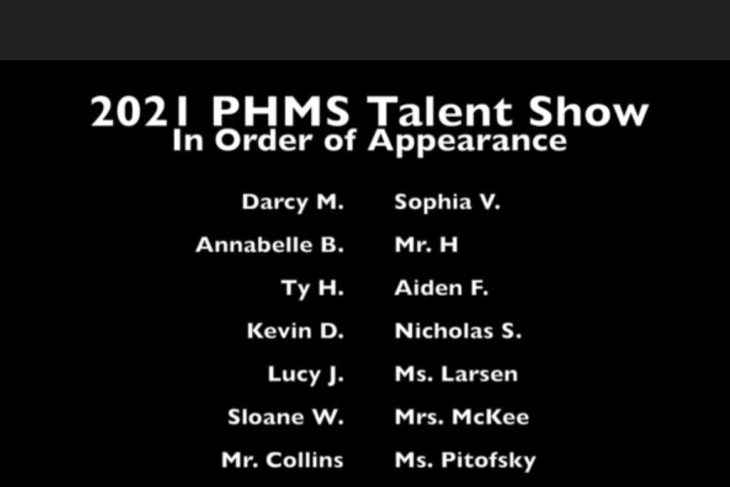 Virtual Pine Hollow Talent Show