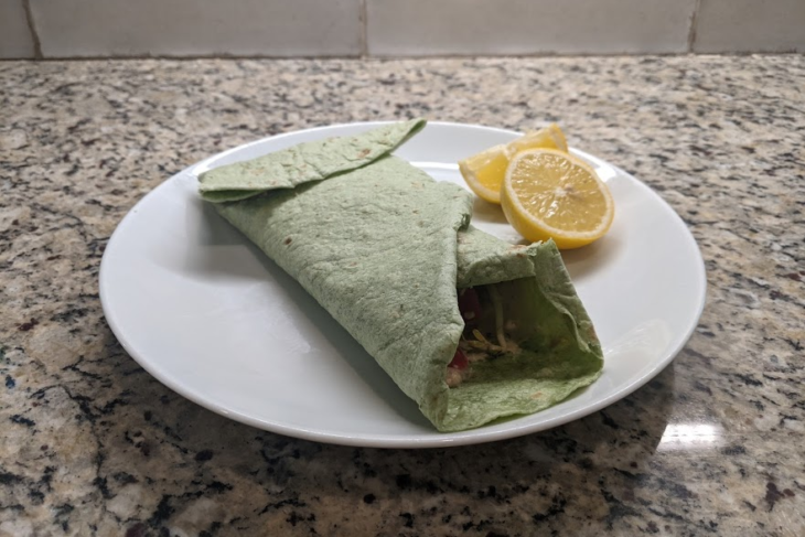 How To Make Chicken Wrap