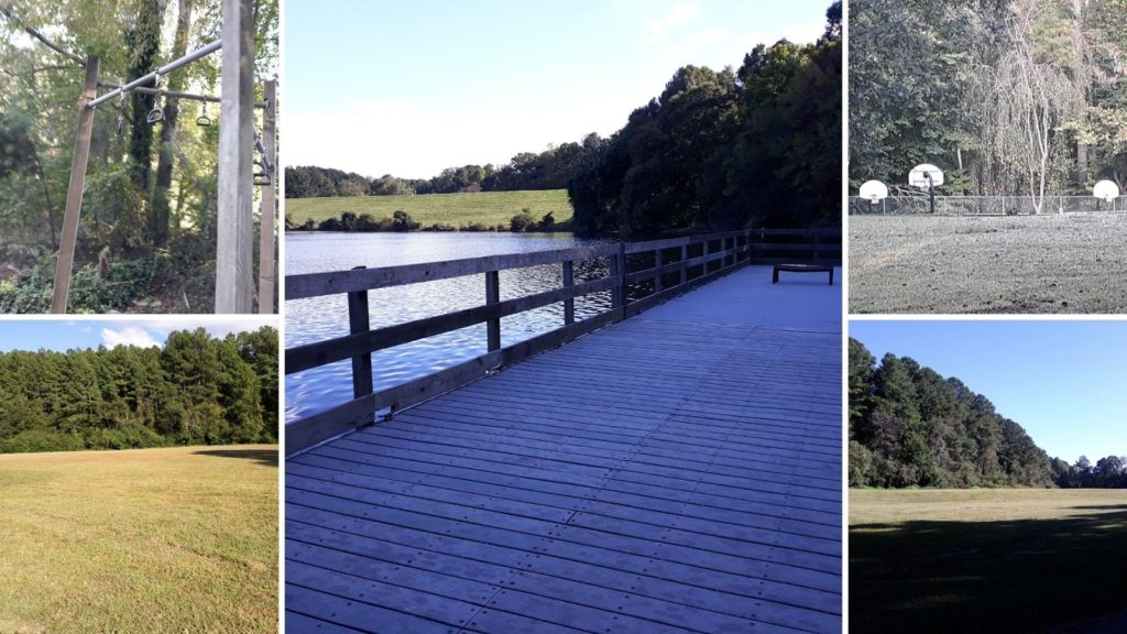 Besides the Sertoma Art Center and the trail, there are other activities at Shelley Lake. The lake has a fishing pier, sports areas, and workout stations located around it.